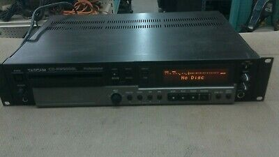 Tascam CD-RW900SL Professional Player Recorder CD Compact Disc Rack Mount