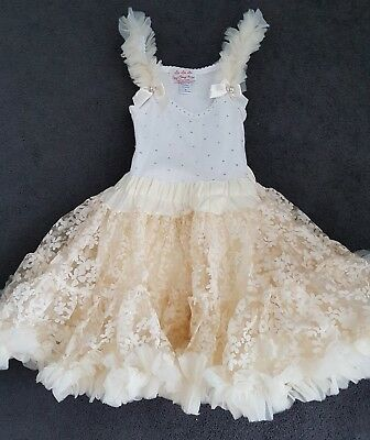 Oopsy Daisy Baby TuTu Dress ~ Swarovski ~ Pageant Dancing Dress ~ Age 2 Years