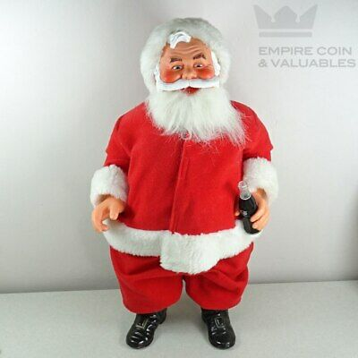 "Vintage Santa Claus Coca-Cola 16"" Collectable Figurine"