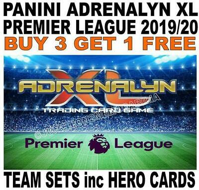 Panini Adrenalyn Xl Premier League 2019/20 - Team Sets 18 Cards