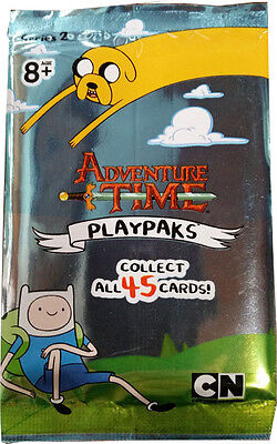 Adventure Time PlayPaks Series 2 Factory Sealed Pack with 5 Cards