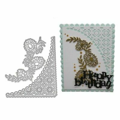 Cutting Lace Card Scrapbooking Paper Dies Stencil Metal DIY Embossing Making 1X