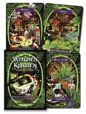 WITCHES' KITCHEN ORACLE Tarot Kit Card Deck Cards Book Boxed Set witch wicca