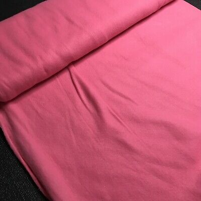 1 Yard Pink Fleece Fabric Cosplay Costume Hat Scarf Gloves Mittens Winter Sewing