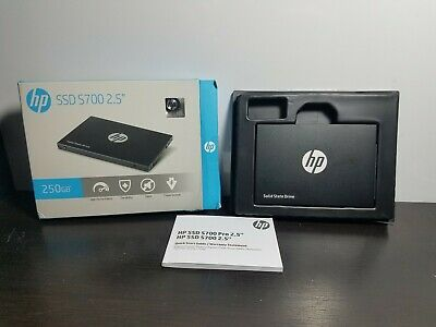 """HP Internal SSD S700 2.5"""" Inch PRO 250GB Solid State Drive Compact Storage"""
