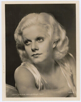 Jean Harlow Early 1930s Pre Code Vintage Art Deco Hollywood Glamour Photograph