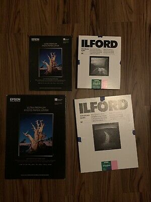 Ilford Multigrade Paper & Epson Photo Paper Lot Of 4
