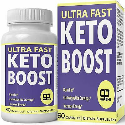 Ultra Fast Keto Boost Weight Loss Pills Fuel Body With Fat Natural Ketogenic BHB