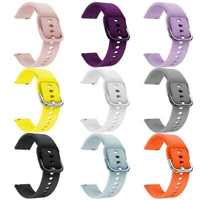 Sport Bracelet en Silicone de Montre pour Samsung Galaxy Watch Active 20MM