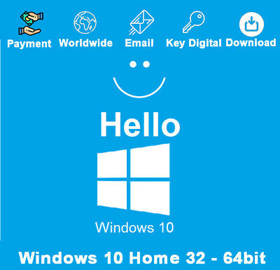 Windows 10 Home Activation Key And Download Link Genuine For 1 PC