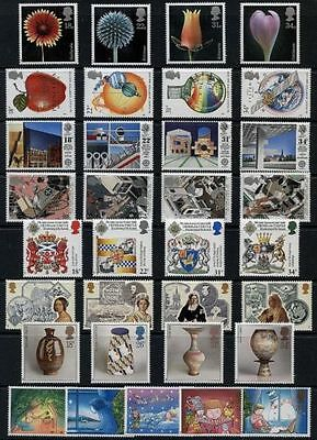 GB 1987 Commemorative Stamps, Year Set~Unmounted Mint~UK Seller