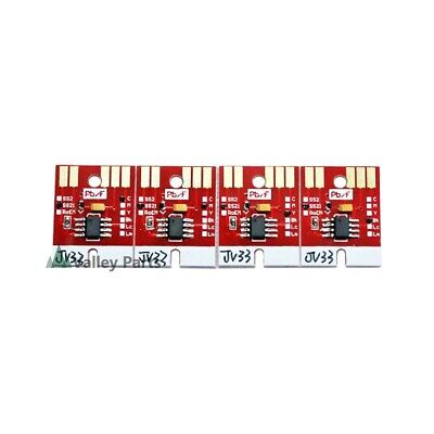 Auto Reset Permanent Chip for Mimaki JV33 JV5 CJV30 SS21 Cartridge 4 Colors CMYK