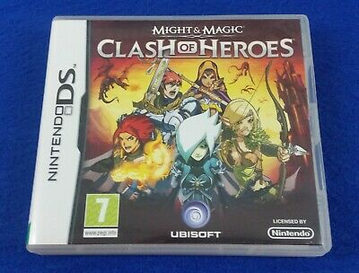ds MIGHT & And MAGIC CLASH OF HEROES Lite DSi 3DS Nintendo REGION FREE PAL UK