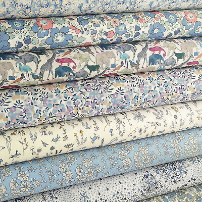 Liberty Sweet Dreams Tana Lawn Fabric / quilting floral pink betsy wiltshire