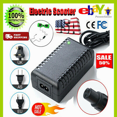 Power Adapter~Battery Charger 42V for Smart Balance Hoverboard Electric Scooter