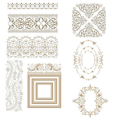 Printing Metal Cutting Dies Stencil Hot Foil Plate Paper Card Crafts Embossing