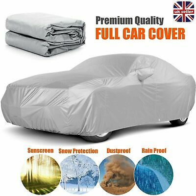 Breathable Heavy Duty Full Car Cover Waterproof UV Protection Large Size L