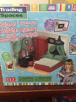 Trading Spaces Design And Redesign Master Bedroom BNIB