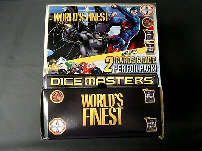 OEJ ~ Dice Masters ~ World's Finest Gravity Feed ~ COMPLETE 90 Foil Packs