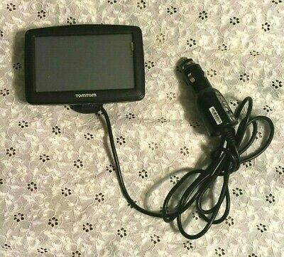 TOM TOM XL (MODEL 4ET03) GPS SYSTEM tomtom w/POWER CORD wow TESTED WORKS GREAT