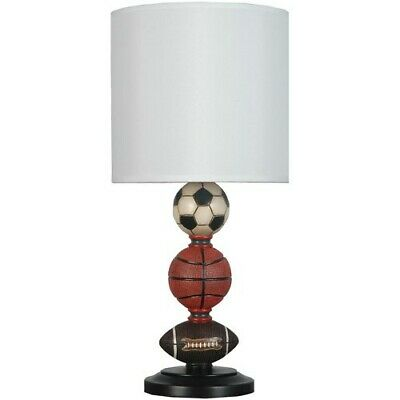 BOYS BEDROOM LAMP Table Room Desk Lighting Accent Car/Truck ...