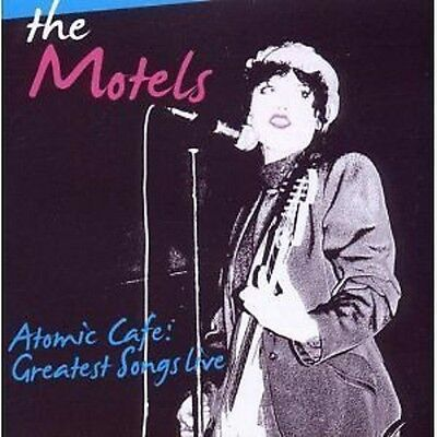 The Motels Atomic Cafe Greatest Songs Live In Boston 1979 & 1980 CD NEW SEALED