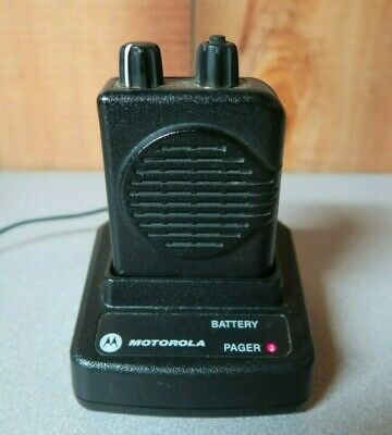 Motorola Minitor V (5) 2-Channel VHF Stored Voice SV Pager 151-159 MHz