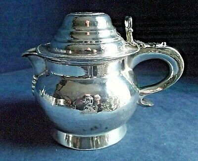 SUPERB Large ~ SILVER Plated ~ GEORGIAN 'COIN Mounted' ~ Water JUG ~ c1825