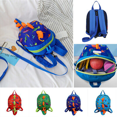 Safety Harness Leash Strap Baby Kid Toddler Walking Backpack Anti-lost Reins Bag