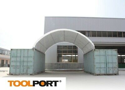 container top shelter / canopy / storage shed - 5 years guarantee on prime PVC