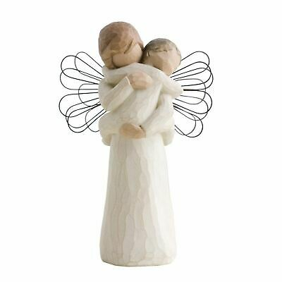 Willow Tree Angel's Embrace Figurine Resin Protection Keepsake Ornament Gift Box