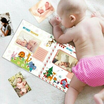 Partykindom- Baby's First Year- Animals World- Pregnancy Journal Book NEW!