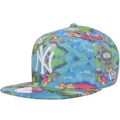 New Era Womens New York Yankees MLB 9FIFTY Baseball Cap Hat - Multi - OSFA