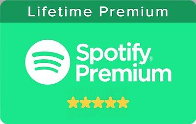 Spotify Premium - 100% Personal Account - LIFETIME - Instant Delivery.