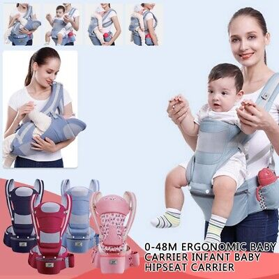 0-48M Baby Carrier Infant Ergonomic Backpack Hipseat Carrier Front Facing Strap