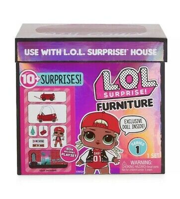 LOL Surprise Doll House Furniture Set SWAG COZY COUPE CAR In hand