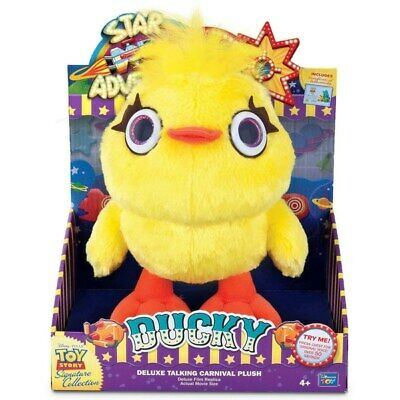 Disney Pixar Toy Story Signature Collection Ducky Carnival Plush Movie