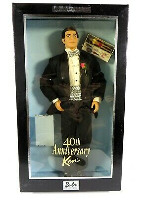 ** Nib Barbie Doll 2001 40Th Anniversary Ken Collector Edition