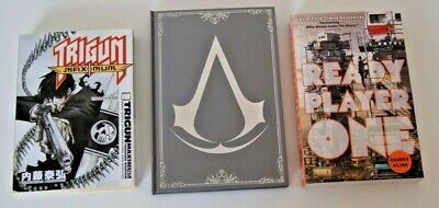 **Loot Crate Exclusive Book Bundle Ready Player One Anime Assassins Creed**