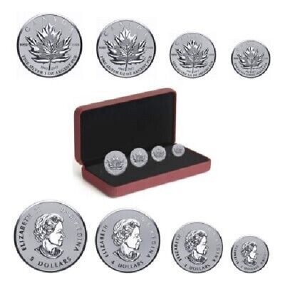 2017 Canada Silver Maple Leaf Fractional Coin Set