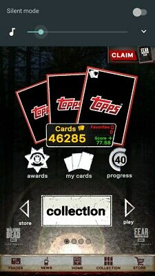 Topps Walking Dead DIGITAL TAKE ANY CARD IN ACCOUNT ONLY $.99 !!