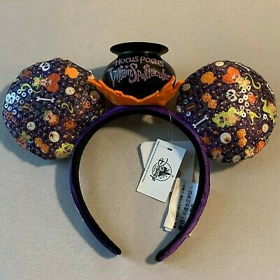 Mickey's Not So Scary Halloween Party 2019 LR Hocus Pocus Mouse Ears MNSSHP