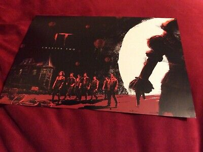 IT - Chaper Two - promotional Odeon A4 high quality poster - Pennywise