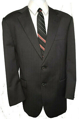 Brooks Brothers 1818 Madison Men's Blazer Jacket Color: Black  Sz: 43R/38W