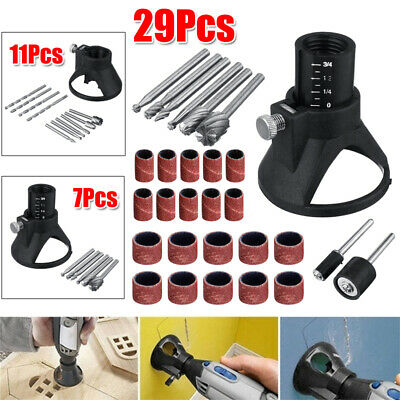 Drill Dedicated Locator Kit + Rotary Grinding Router Grinding Routing Bits Tool