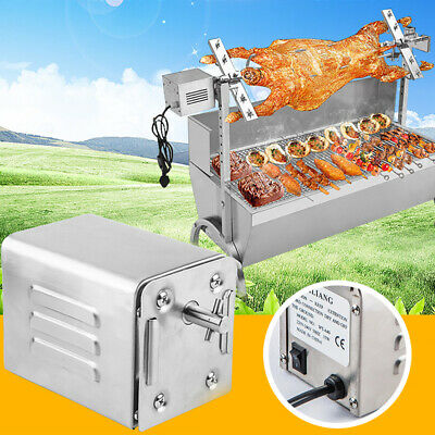 50KGF Stainless Steel BBQ Rotisserie Motor Rod Pig Chicken Grill Electric Motor