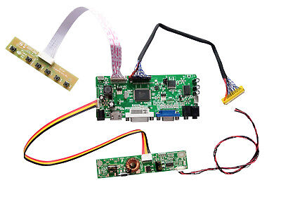 F2 TLF2 HDMI+DVI+VGA LCD Monitor Controller Board Convert Kit for LM201WE3 TL