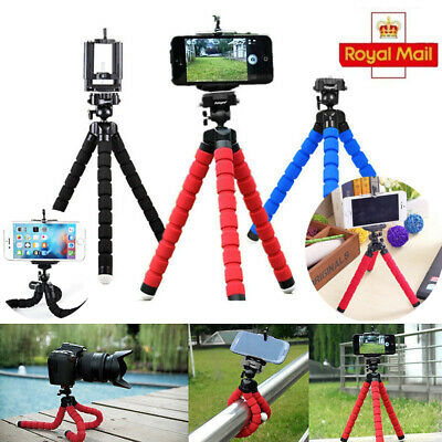Universal Mini Mobile Phone Tripod Stand Grip Holder Mount For iPhone Camera NEW