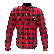 Merlin Axe Protective Riding Shirt Red Small