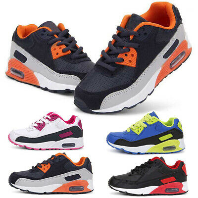 Children Kids Air Running Trainers Shoes Boys Girls Sports Shoes Sneakers Sizes